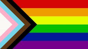 """""""Progress"""" a PRIDE Flag reboot by Daniel Quasar"""